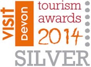 Devon Tourism Awards 2014 Silver