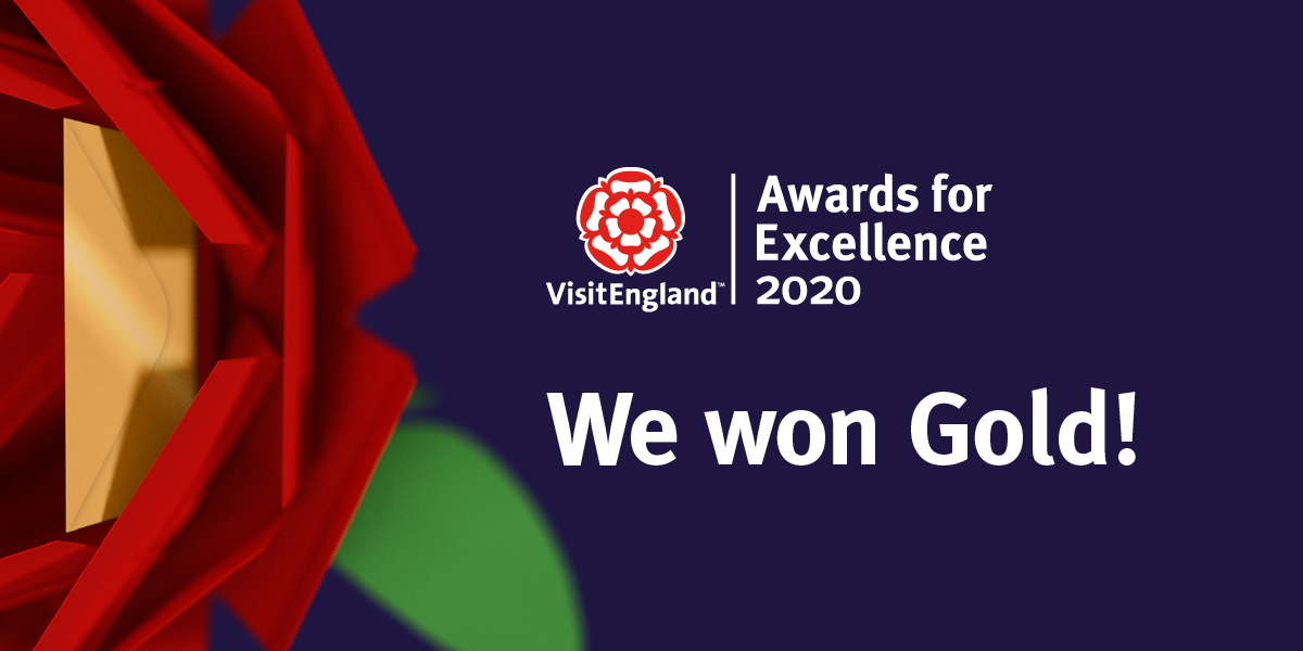 North Hayne Farm take Gold for Self Catering Accommodation at Visit England Awards 2020