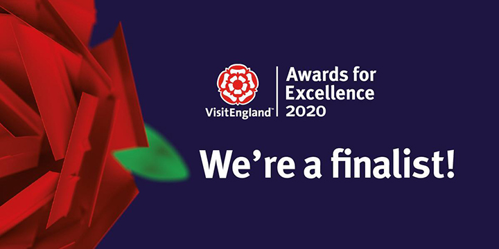 We're Visit England Finalists