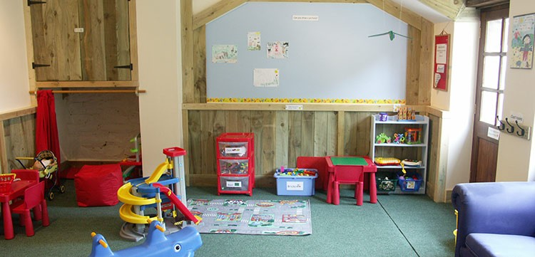 Under 7's Play Barn Play Equipment