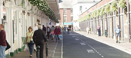 Barnstaple Butchers Row